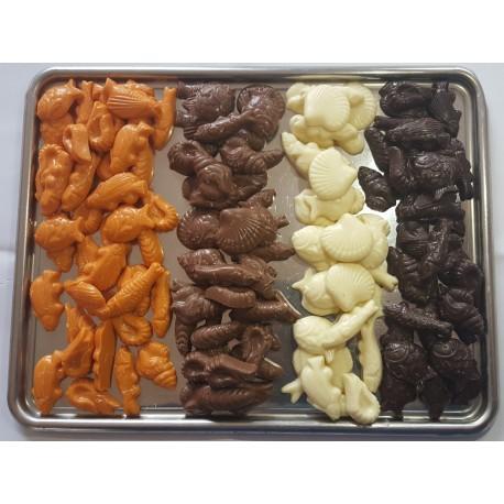 Friture chocolats assortis